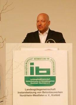 Sebastian Fink, Vorsitzender der LIB NRW e. V., Krefeld und Technischer Leiter SBS GmbH